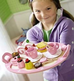 Wooden Sweet Treats Tray