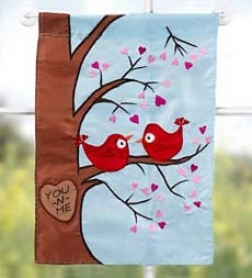 You 'n Me Garden Flag-small