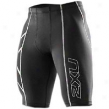2xu Performance Compression Short - Mens - Black