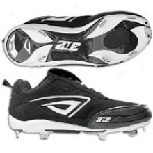 3n2 Rally Fastpitch Metal Pt - Womens - Black/whitd