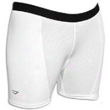 3n2 Slider Shorts - Womens - White