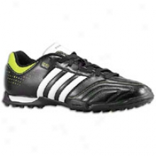 Adidas 11questra Trx Tf - Mens - Black/white/slime