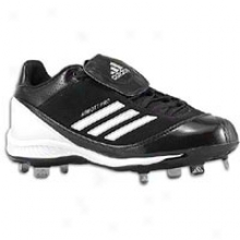 Adidas Abbott Pro Metal Low - Womens - Black/white/metallic Silver