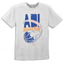 Adidas Adiball T-shirt - Mens - Medium Grey Heather