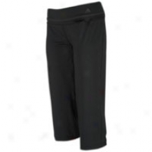 Adidas Adifit Capri - Womens - Black