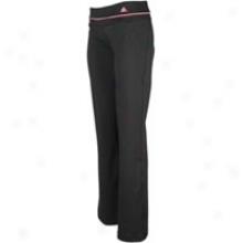 Adidas Adifit Slim Pant - Womens - Black/ultra Pop