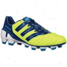 Adidas Adipower Predator Trx Fg - Mens - Slime/dark Indigo/super Cyan S12