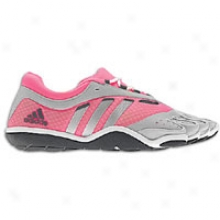 Adidas Adipure Barefoot Trainer Lace - Womens - Ultra Pink/metalloc Silver/running White