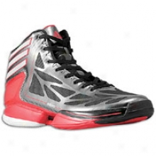 Adidas Adizero Crazy Light 2 - Big Kids - Black/white/scarlet