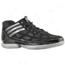 Adidas Adizero Crazy Ligyt Low - Mens - Black/grey/white