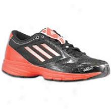 Adidas Adizero F50 Runner 2 - Big Kids - Black/high Energy/zero Metallic