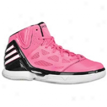 Adidas Adizero Rose 2.5 - Distended Kids - Pink/black/white