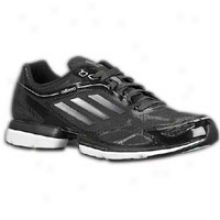 Adidas Adizero Rush - Mens - Black/iron Metallic