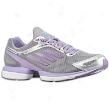 Adidas Adizero Rush - Womens - Shift Grey/power Purple/super Purple