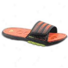 Adidas Adizero Supercloud Slide 2 - Mens - Black/high Energy/electricity