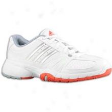 Adidas Barricade Team 2 - Womens - Running White/metallic Silver/cofe Energy