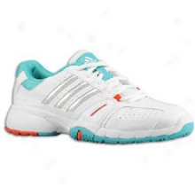 Adidas Bercuda 2 - Womens - Running White/metaplic Silver/ultra Green