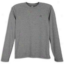 Adidas Clima Ultimzte L/s T-shirt - Mens - Dark Grey Heathsr/black