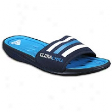 Adidas Climacool Chill Regaining Slide - Mens - Collegiate Navy/sharp Blue/white
