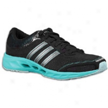 Adidas Climacool Solution - Womens - Black/neo Iron Metallic/ultra Green
