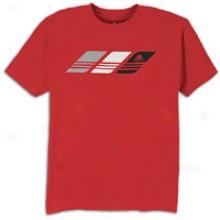 Adidas Clikaspeed T-shirt - Mens - University Red/black/white