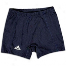 "Adidas Compression 4&"" Short - Womens - Blue-collegiate Navy"