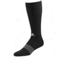 Adidas Compression Otc Sock - Mens - Black/graphite/silver