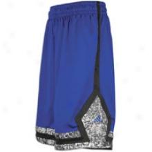 Adidas D Rose Short - Mens - Collegiate Royal/white/black