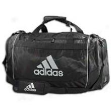 Adidas Defender Duffle Medium - Black/silver