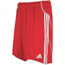 Adidas Equipo Short - Big Kids - University Red/white