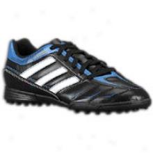 Adidas Ezeiro Iii Trx Tf - Big Kids - Black/white/prime Blue