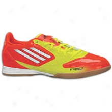 Adidas F10 In - Mens - High Energy S12/white/electricity