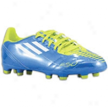 Adidas F10 Trx Fg - Big Kids - Anodized Blue/white/slime