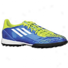 Adidas F10 Trx Tf - Mens - Anodized Blue/white/slime