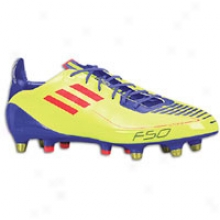 Adidas F50 Adizero Xtrx Sg - Mens - Electricity/infrared/sharp Purple Anodized