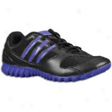 Adidas Fluid Trainer Light Ii - Womens - Black/sharp Purple/ultra Lilac Metallic