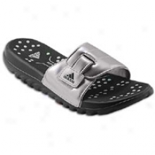 Adidas Fluid Trainer Slide - Womens - Black/black/metallic Silvdr