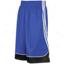 Adidas Full Royal household Press Short - Mens - Collegiate Royal/black