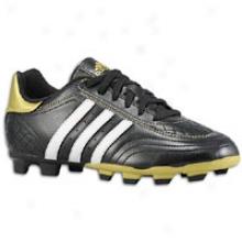 Adidas Goletto Iii Trx Fg - Big Kids - Black/white/metallic Gold