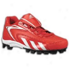 Adidas Hot Streak Low J - Big Kids - University Red/white/black