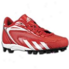 Adidas Hot Streak Mid J - Big Kids - University Red/white/black