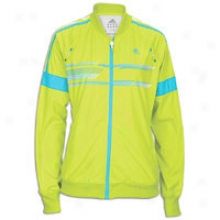 Adidas La Grete Track Jacket - Womens - Slime/intense Blue