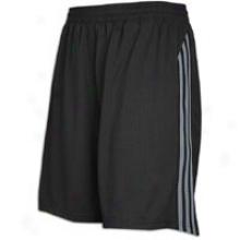 Adidas M10 Mesh Short - Mens - Black/lead
