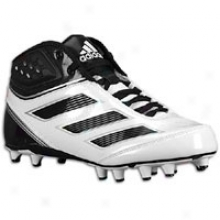 Adidas Malevolence 2 Fly - Mens - White/black/metallic Silver