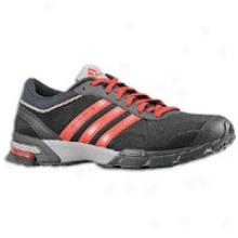 Adidas Maratho n10 - Mens - Black/red/aluminum