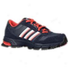 Adidas Marathon 10 Trail - Womens - Legend Blue/zero Metallic/aer Red
