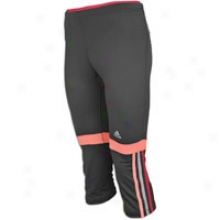 Adidas Mc La 3/4 Tight - Womens - Phantom/turbo/sharp Red