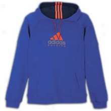 Adidas Mc L/s Hoodie - Mens - Collegiate Royap/dark Navy/infrared
