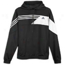 Adidas Misterfly Hoodie - Mens - Black/white/lead