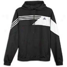 Adidas Misterfly Hoodie - Mens - Black/white/lead